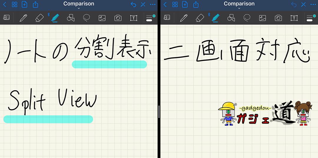 iPad note app